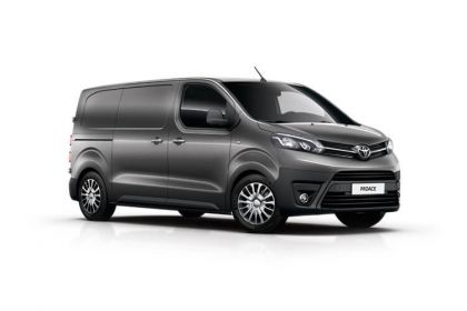 Buy Toyota PROACE outright purchase vans