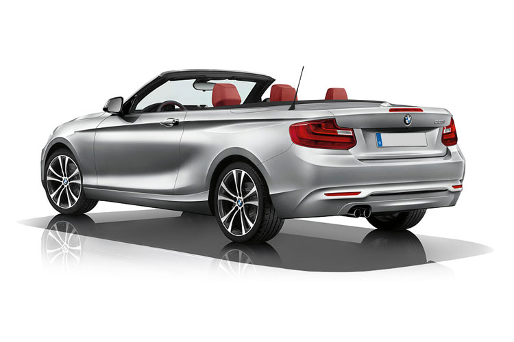 BMW 2 Series 218 Convertible 2.0 i 136PS M Sport 2Dr Auto [Start Stop] back view