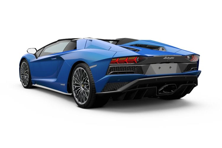Lamborghini Aventador Roadster 2Dr 6.5 V12 770PS LP 770-4 SVJ 2Dr ISR back view