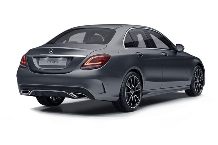 Mercedes-Benz C Class C300 Saloon 2.0 d 245PS AMG Line Night Edition 4Dr G-Tronic+ [Start Stop] [Premium] back view