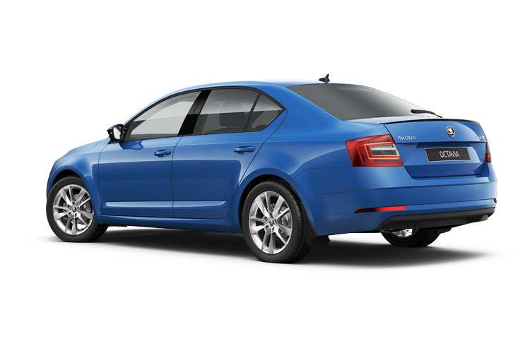 Skoda Octavia Hatch 5Dr 1.0 TSi e-TEC MHEV 110PS SE Technology 5Dr DSG [Start Stop] back view