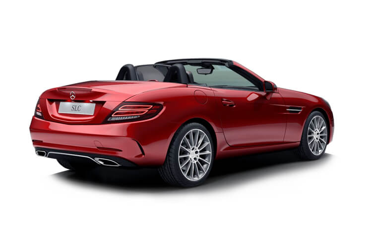 Mercedes-Benz SLC SLC200 Coupe Convertible 2.0  184PS Final Edition Premium 2Dr G-Tronic [Start Stop] back view