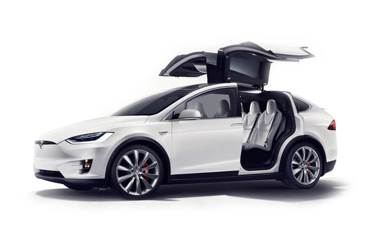 Tesla Model X SUV 5Dr Dual Motor Elec 450KW 603PS Performance Ludicrous 5Dr Auto detail view