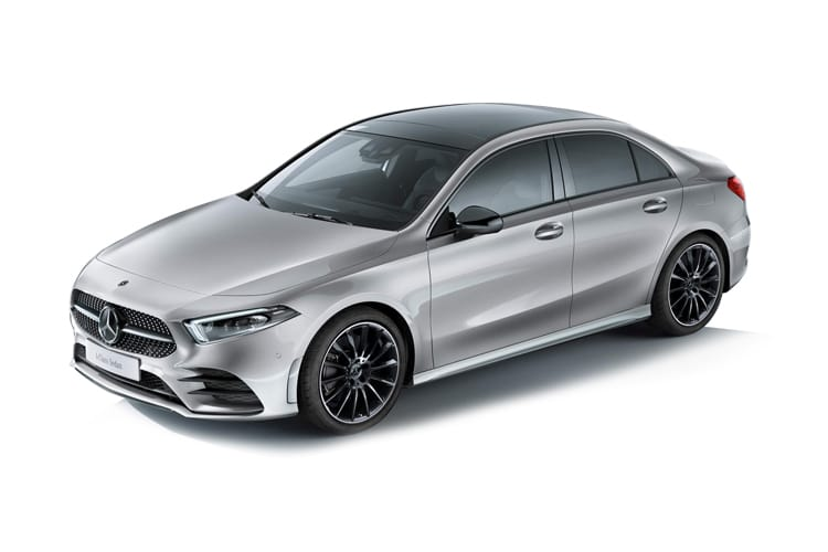 Mercedes-Benz A Class A180 Saloon 4Dr 1.3  136PS AMG Line Premium 4Dr 7G-DCT [Start Stop] front view