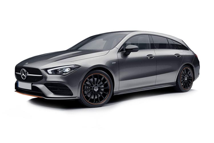 Mercedes-Benz CLA AMG CLA35 ShootingBrake 4MATIC 2.0  306PS  5Dr 7G-DCT [Start Stop] front view