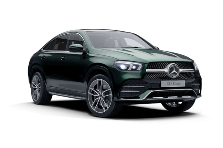 Mercedes-Benz GLE GLE350e Coupe 4MATIC 2.0 d PiH 31.2kWh 320PS AMG Line Premium Plus 5Dr G-Tronic [Start Stop] front view