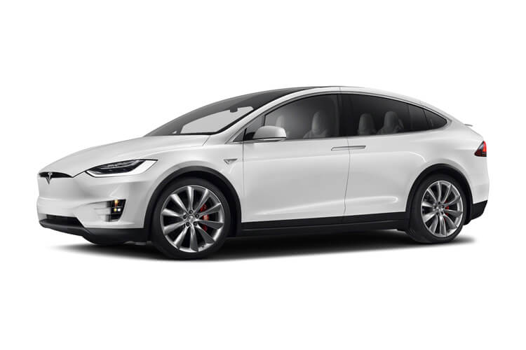 Tesla Model X SUV 5Dr Dual Motor Elec 450KW 603PS Performance Ludicrous 5Dr Auto [6Seat] front view