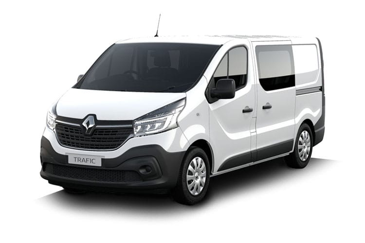 Renault Trafic 30 SWB 2.0 dCi ENERGY FWD 145PS Business Crew Van EDC [Start Stop] front view