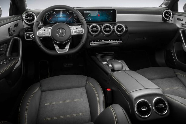 Mercedes-Benz A Class A200 Hatch 5Dr 1.3  163PS Exclusive Edition 5Dr 7G-DCT [Start Stop] inside view