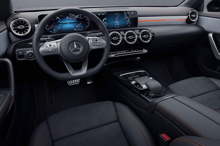 Mercedes-Benz CLA AMG CLA35 ShootingBrake 4MATIC 2.0  306PS  5Dr 7G-DCT [Start Stop] inside view