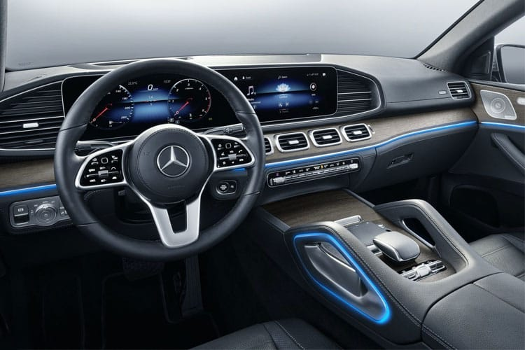 Mercedes-Benz GLE GLE350e Coupe 4MATIC 2.0 d PiH 31.2kWh 320PS AMG Line Premium Plus 5Dr G-Tronic [Start Stop] inside view
