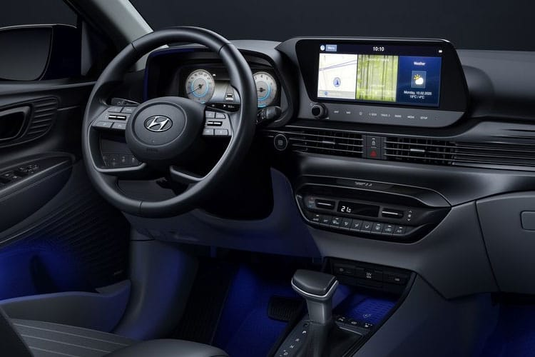 Hyundai i20 Hatch 5Dr 1.0 T-GDi MHEV 100PS SE Connect 5Dr DCT [Start Stop] inside view