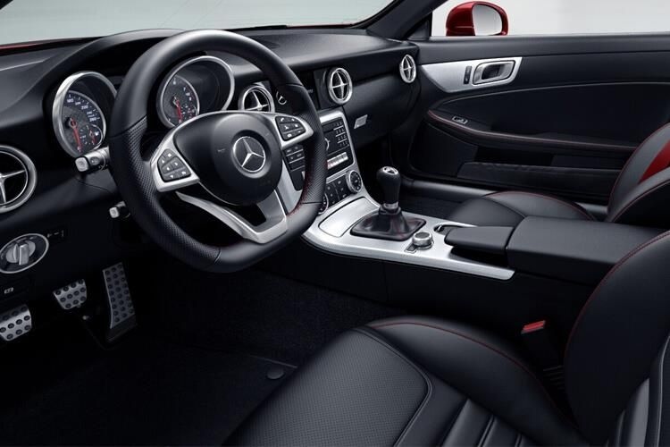 Mercedes-Benz SLC SLC200 Coupe Convertible 2.0  184PS Final Edition Premium 2Dr G-Tronic [Start Stop] inside view