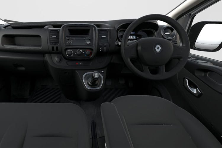 Renault Trafic 28 SWB 2.0 dCi ENERGY FWD 145PS Business Van Manual [Start Stop] inside view