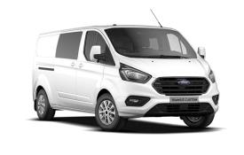 Ford Transit Custom Crew Van 300 L2 2.0 EcoBlue FWD 130PS Limited Crew Van Manual [Start Stop] [DCiV]